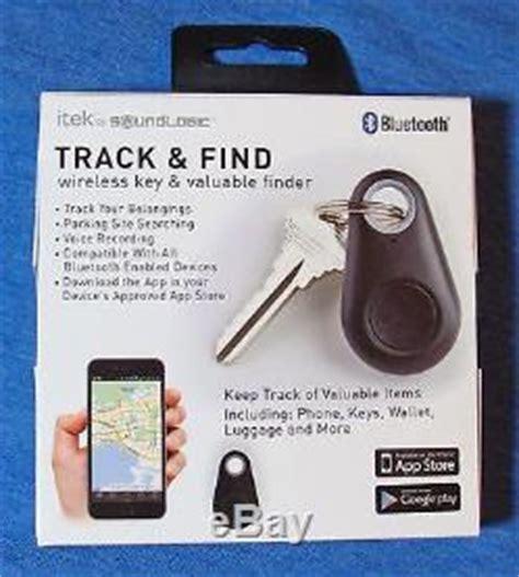 itek track find wireless key valuable finder bluetooth