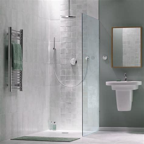 Shower Line - showerline 1000 x 1000mm rear outlet shower tile tray 3