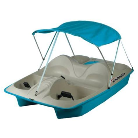 Sun Dolphin Paddle Boat Canopy by Sun Dolphin 5 Person Pedal Boat With Canopy Tractor