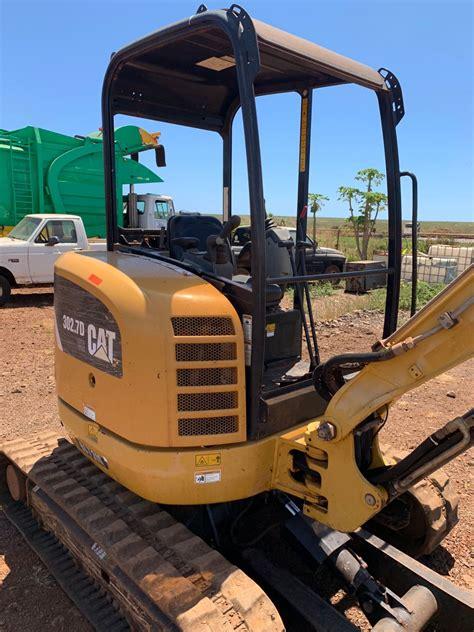 lanai  cat  mini excavator  hours runs oahu auctions
