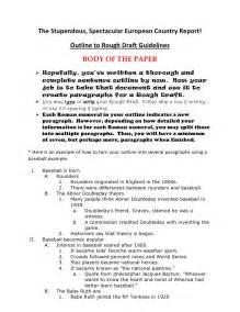 essay rough draft examples