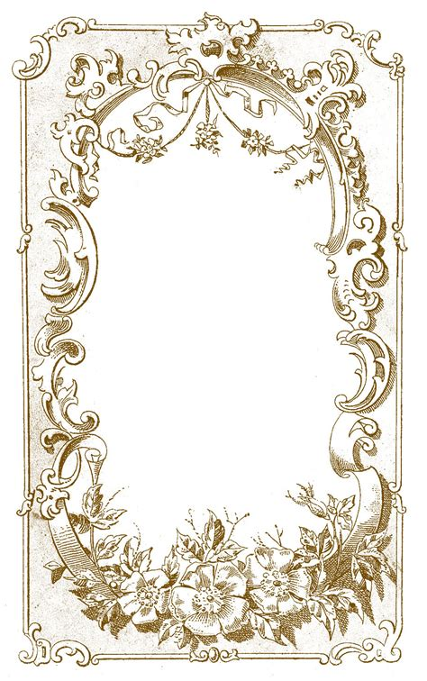 digital frame image ornate european  graphics fairy