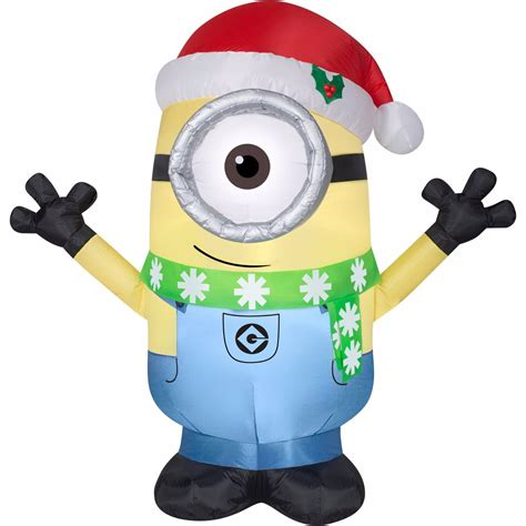 tis  season  carl minion  scarf christmas