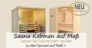 Sauna Auf Maß : sauna kaufen moderne heimsauna gartensauna infrarotkabine beim profi ~ Sanjose-hotels-ca.com Haus und Dekorationen