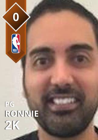 ronnie  nba  custom card kmtcentral