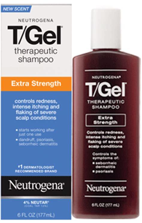 neutrogena tgel extra strength patient information description dosage  directions