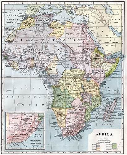 Africa Colonisation Map African 1910 Wikipedia Colonial