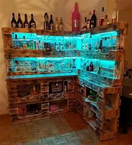 Bar Aus Paletten : 25 beste idee n over bar aus paletten op pinterest het ~ Articles-book.com Haus und Dekorationen