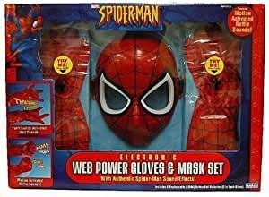 Amazon.com: Toy Biz Spider-Man Web Power Glove & Mask Set