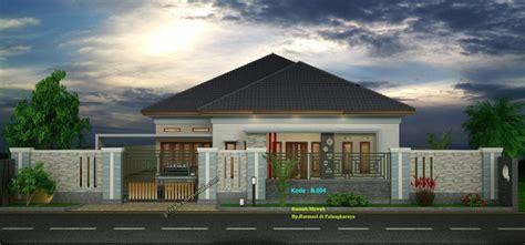 desain rumah type   lantai  kamar tidur jasa desain