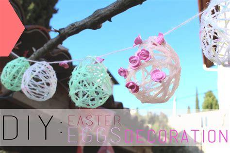 decoration d oeuf de paques diy p 226 ques oeufs en fil de easter eggs decoration subs