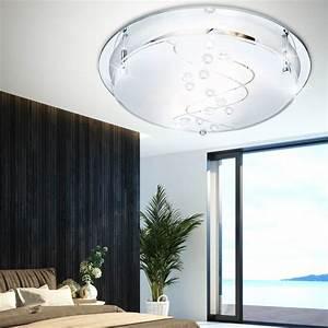 Spiegel Im Esszimmer : decken lampe wohnzimmer glas spiegel flur bad leuchte esszimmer beleuchtung rund ebay ~ Orissabook.com Haus und Dekorationen