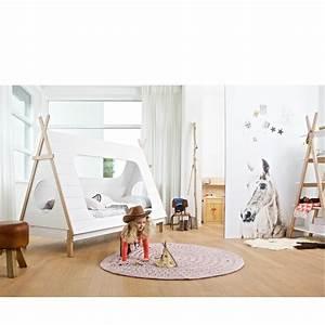 Tipi Chambre Bébé : cadre de lit enfant bois avec sommier tipi drawer ~ Teatrodelosmanantiales.com Idées de Décoration