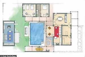 Plan De Maison Avec Piscine. plan maison moderne avec piscine ooreka ...