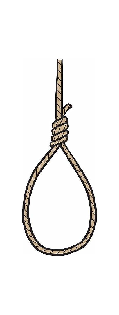 Hanging Noose Clipart Suicide Vector Rope Clip