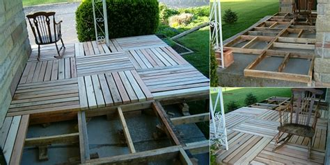 Build Porch by Diy Pallet Wood Front Porch Home Design Garden