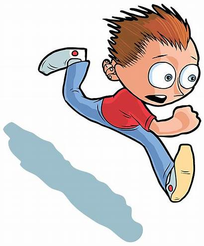Story River Across Contest Clipart Running Boy