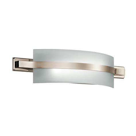 shop kichler lighting 1 light freeport polished nickel led