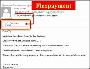 Flexpayment Rechnung : flexpayment ihre rechnung ist immer noch nicht bezahlt ~ Themetempest.com Abrechnung