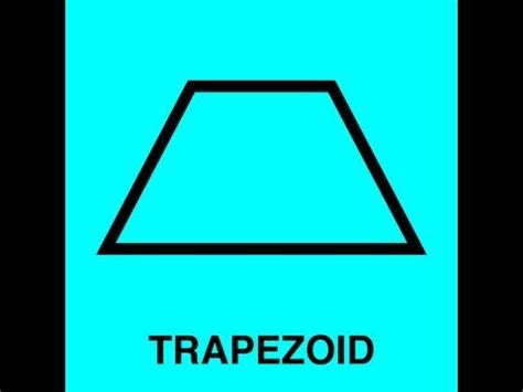 Trapezoid Song  2d & 3d Shapes  Pinterest. Dry Elbow Signs. External Building Signs. Wet Paint Signs. Coccidioidomycosis Signs. Co2 Signs. Minimalist Signs. Building Floor Signs Of Stroke. Road Work Signs Of Stroke