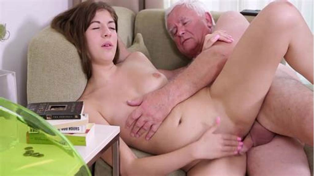 #Teen #Cutie #Makes #Old #Man #Cum