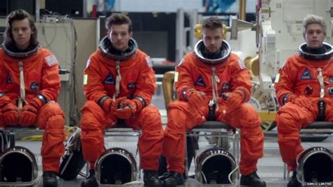 not angka drag me down one direction s space themed drag me down video explained bbc newsbeat