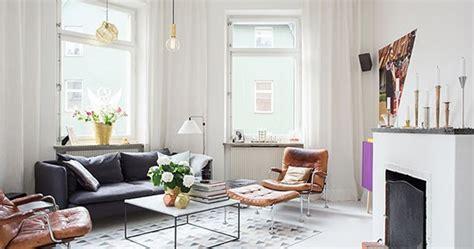lingkar warna desain bertema skandinavia