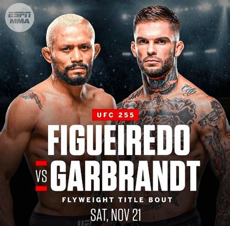 UFC 255: Deiveson Figueiredo vs Cody Garbrandt | Grappling ...