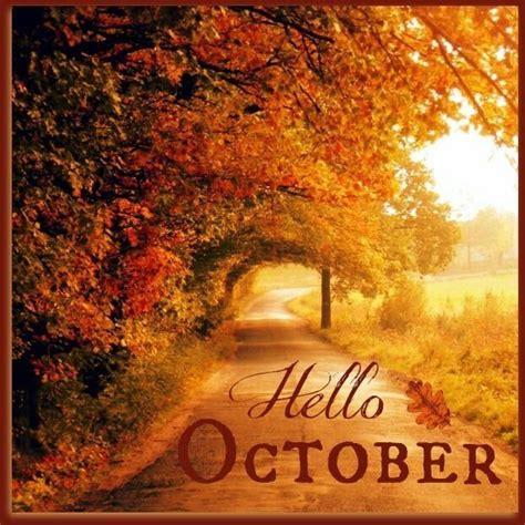 Hello October Quotes Quotesgram