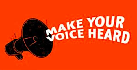 Make Your Voice Heard. As one of thousands of people in your…   by Kelly Wert   nonviolenceny ...