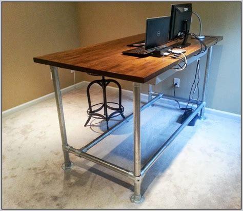 build a standing desk home depot stand up desk plans wood desk home design ideas
