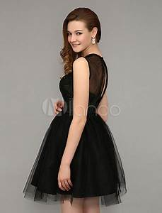 robe noire tulle With robe noire avec tulle
