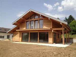 Ossature Bois Maison : maison ossature bois top maison ~ Melissatoandfro.com Idées de Décoration