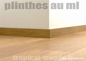 Plinthe Bois Massif : plinthes zebrano 16 x 95 massif finition brut p r e m ~ Melissatoandfro.com Idées de Décoration