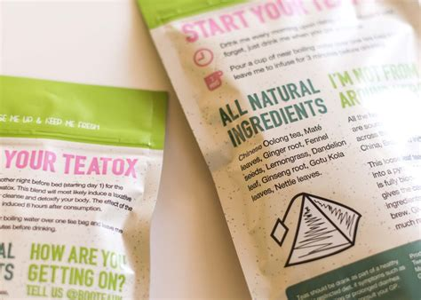 Review A Thorough Honest Look At Bootea 14 Day Teatox