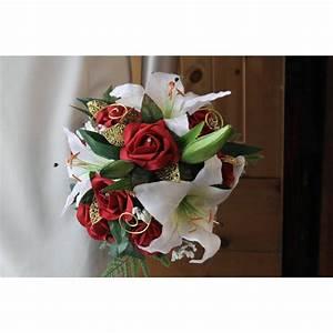 Bouquet De La Mariée : bouquet de mari e exceptionnel avec des roses lys perles ~ Melissatoandfro.com Idées de Décoration