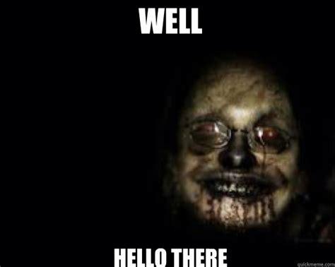 Creepy Face Meme - well hello there creepy face quickmeme