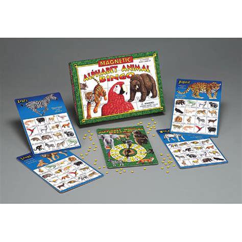 magnetic alphabet animal bingo  toyworks