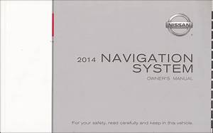2014 Nissan Altima Sedan Owner U0026 39 S Manual Original