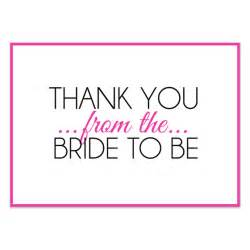 wedding shower thank you cards bridal shower thank you pink invitations cards on pingg