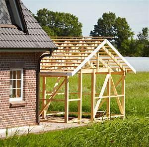 Carport Günstig Selber Bauen : carport aus holz selber bauen anleitung in 5 schritten ~ Michelbontemps.com Haus und Dekorationen