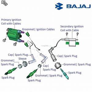 Bajaj Pulsar Rs200 Dtsi  Ignition Coil