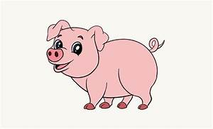 Simple Cute Pig Drawing | www.imgkid.com - The Image Kid ...
