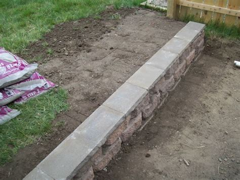 how to build a small retaining wall with wood how to build a small retaining wall