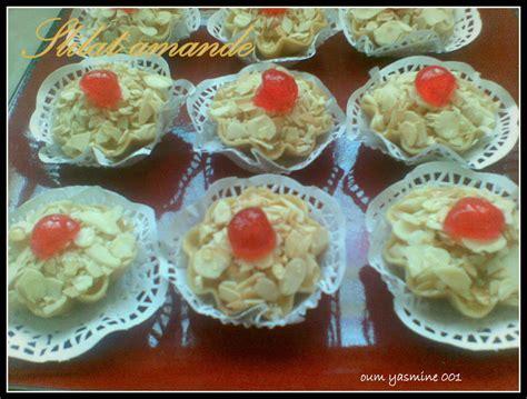 la cuisine d oum arwa slilattes au amandes la cuisine d 39 oum yasmine001