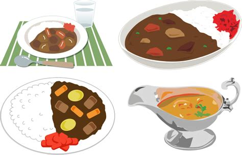 cuisine wiki clipart japanese curry rice 3