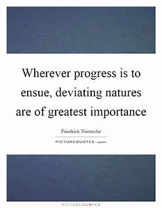 Wherever progre... Importance Of Progress Quotes