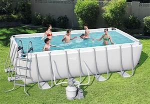 Piscine Tubulaire Oogarden : piscine tubulaire rectangulaire 4 88 x 2 44 x 1 22 m ~ Premium-room.com Idées de Décoration