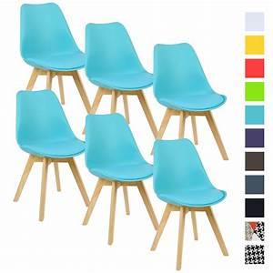 Esszimmerstühle 6 Set : 6er set esszimmerst hle design esszimmerstuhl k chenstuhl holz blau bh29bl 6 ebay ~ Orissabook.com Haus und Dekorationen