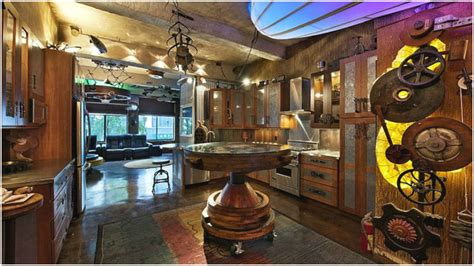 Room Decor For Teens Steampunk Bedroom
